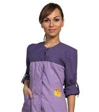 цветной халат женский медицинский