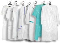 какие ткани используются при пошиве халатов медицинских