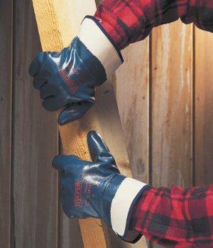 где применяются нитриловые перчатки
