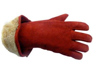 Утепленные зимние перчатки с крагами для рабочих