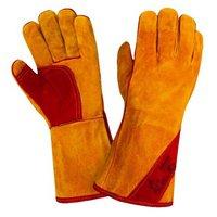 Краги спилковые - разновидность рабочих перчаток для выполнения сварочных и монтажных работ