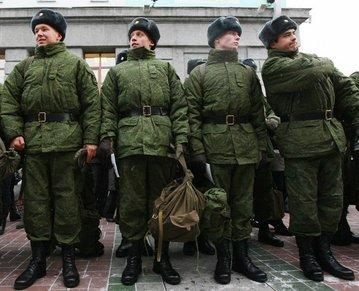 Модернизация российской военной формы