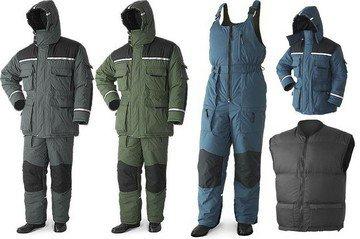 Зимняя униформа - надежная защита от холода