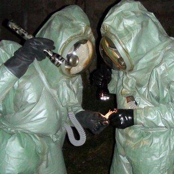 Шланговые защитные костюмы