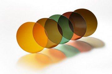 Цветовая гамма водительских линз