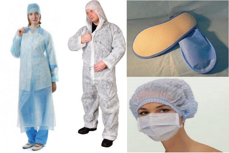 Медицинская одноразовая одежда