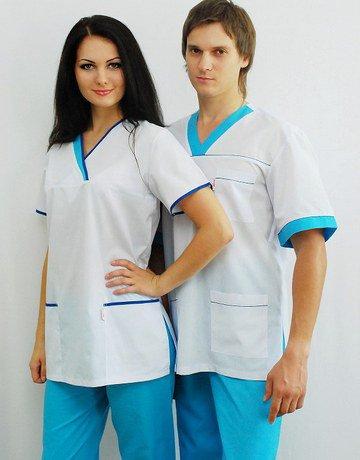 Применение материала в медецинской одежде