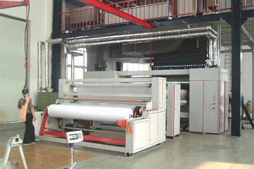 Техналогический процесс производства ткани