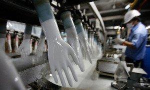 обородувание по производству медицинских резиновых перчаток