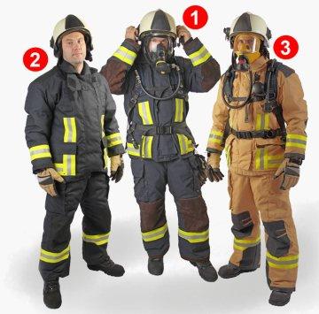 Что обязательно входит в комплектацию боевой одежды пожарного?