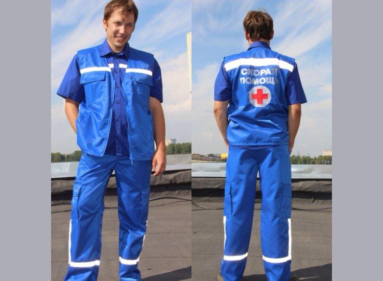 Летний вариант одеждя для сотрудников скорой помощи