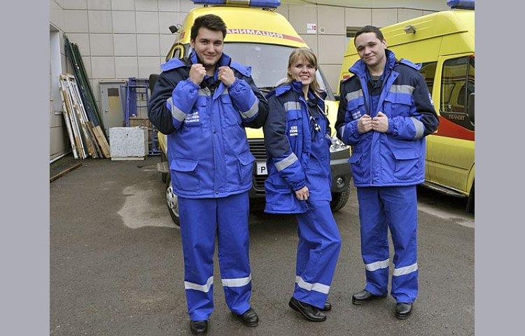 Зимняя спецодежда для работников скорой помощи