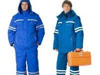 Образец одежды для медработников