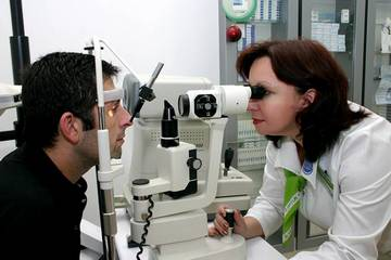 Обязательная проверка зрения