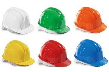 Применением индивидуальных средств защиты для головы