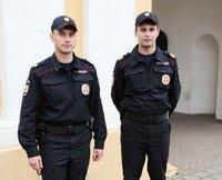 Современная летняя форма полиции