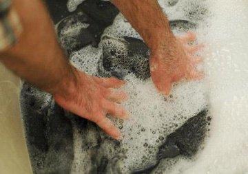 Спецодежду необходимо регулярно стирать